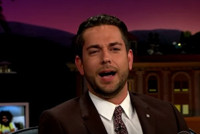 VIDEO: Zachary Levi Reveals He's Ready for the Big Earthquake on CORDEN