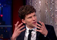 VIDEO: Jesse Eisenberg Reveals He Has a Problem With His Face on COLBERT