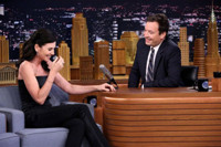 VIDEO: Julianna Margulies Shares Message for GOOD WIFE Fan Hillary Clinton on 'Tonight'
