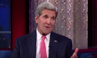 VIDEO: John Kerry Explains High Stakes of Iran Deal on COLBERT