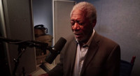 VIDEO: Morgan Freeman Auditions to Be New LATE SHOW Announcer