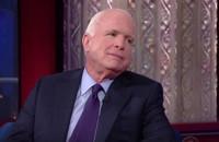 VIDEO: John McCain Talks 2008 Losing Run for Presidency on COLBERT