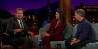 VIDEO: Nina Dobrev and Chris Parnell Compete in Trivia Game on LATE LATE SHOW