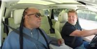 VIDEO: James Corden Shares More Carpool Karaoke with Stevie Wonder!