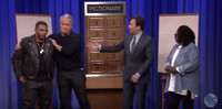 VIDEO: Whoppi Goldberg, Jeff Daniels & Nelly Face Off in Pictionary on TONIGHT