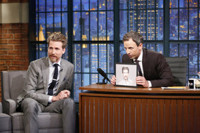 VIDEO: Seth's Brother Josh Meyers Talks 'Red Oaks' & More on LATE NIGHT