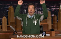 VIDEO: Jimmy Fallon Announces New 'Hands High' Line of Sportswear!