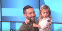 VIDEO: Three-Year-Old Adam Levine Fan Has Second Thoughts After Meeting Him on ELLEN