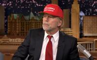 VIDEO: Bruce Willis Channels Donald Trump; Talks Broadway Debut on TONIGHT
