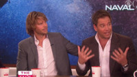 VIDEO: Michael Weatherly & Eric Christian Olsen Chat NCIS Crossover Episode on THE TALK