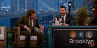VIDEO: Bradley Cooper Shares TBT Photo with Dax Shepard on JIMMY KIMMEL