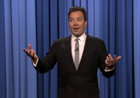 VIDEO: Jimmy 'Trippy' Fallon Reveals How He Injured His Other Hand