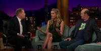 VIDEO: Rebecca Romjin and David Koechner Visit JAMES CORDEN