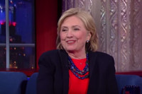 VIDEO: Hillary Clinton Reveals She Binge-Watches 'The Good Wife' on COLBERT