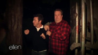 VIDEO: ELLEN Makes a Terrified Eric Stonestreet Walk Through a Haunted House