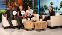 VIDEO: Sandra Bullock & 'Our Brand Is Crisis' Cast Play Never Have I Ever on ELLEN
