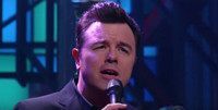 VIDEO: Seth MacFarlane Performs 'The One I Love' from New Album on LATE SHOW