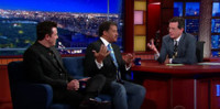 VIDEO: Stephen Colbert Geeks Out with Neil Degrasse Tyson on LATE SHOW