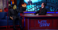 VIDEO: Charlie Rose, The Zombies & More Visit LATE SHOW's Halloween Episode