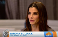 VIDEO: Sandra Bullock Talks New Film OUR BRAND IS CRISIS on 'Today'