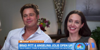 VIDEO: Angelina Jolie, Brad Pitt Discuss Marriage, New Film, Cancer Fight on TODAY