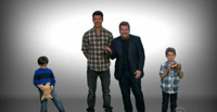 VIDEO: James Corden & Josh Duhamel Try to Rent Their Kids Out to Single Men