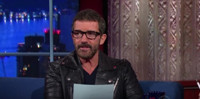 VIDEO: Antonio Banderas Makes Anything Sound Sexy on LATE SHOW