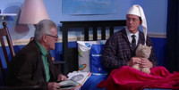 VIDEO: Author John Irving Reads Stephen a Bedtime Story on LATE SHOW