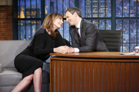 VIDEO: Allison Janney Talks Season 3 of 'MOM' on LATE NIGHT