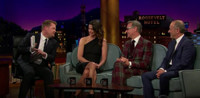 VIDEO: Bridget Moynahan & Paul Feig Visit LATE LATE SHOW