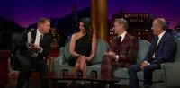 VIDEO: Bridget Moynahan & Paul Feig Visit LATE LATE SHOW