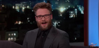 VIDEO: Seth Rogen Talks New Holiday Comedy 'The Night Before' on JIMMY KIMMEL
