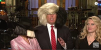VIDEO: Sia Joins Donald Trump in All-New SNL Promo