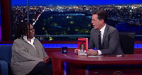 VIDEO: Whoopi Goldberg Talks New Book & More on LATE SHOW