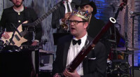VIDEO: Rainn Wilson is 'The Bassoon King' on LATE SHOW