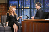 VIDEO: Kathy Griffin Talks Ben Carson & More on LATE NIGHT