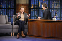 VIDEO: Paul Bettany Talks Directing His Wife in New Film 'Shelter' on LATE NIGHT