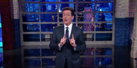 VIDEO: Stephen Colbert Has a Message for STAR WARS' George Lucas