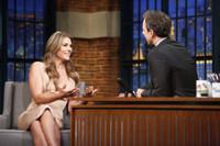 VIDEO: Elizabeth Hurley Talks New Season of THE ROYALS on 'Late Night'