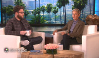 VIDEO: Seth Rogen Ends Long-Standing Feud with Justin Bieber on ELLEN