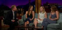 VIDEO: Melissa Benoist, Olivia Wilde & Saoirse Ronan Talk Superheroes on CORDEN