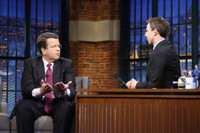 VIDEO: Fox's Neil Cavuto Talks Moderating Republican Debate on LATE NIGHT