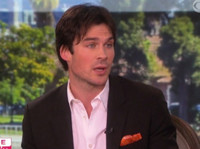 VIDEO: Ian Somerhalder Chats Magical Wedding to Nikki Reed & More on THE TALK