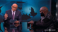 VIDEO: Rapper Rick Ross 'Keeps It Real' on THE NIGHTLY SHOW