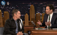 VIDEO: Ethan Hawke Talks New Parenting Book on TONIGHT SHOW