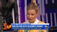 VIDEO: Elizabeth Banks Talks Final HUNGER GAMES Film on GMA