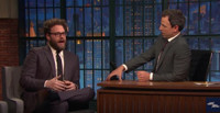 VIDEO: Seth Rogen Talks Sony Hacking & More on LATE NIGHT