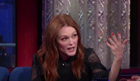 VIDEO: Julianne Moore Talks Being a Ginger Icon on LATE SHOW