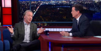 VIDEO: 'Real Time's Bill Maher Visits LATE SHOW WITH STEPHEN COLBERT