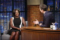 VIDEO: Viola Davis Talks Powerful Emmy Speech & More on LATE NIGHT